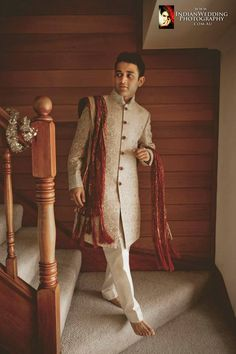 Almost ready! Photo by Photography Showroom, Patiala #weddingnet #wedding #india #indian #indianwedding #prewedding #photoshoot #photoset #groom #wear #groomwear #sherwani #groomsmen #photographer #photography #inspiration #planner #organisation #invitations #details #sweet #cute #gorgeous #fabulous