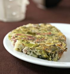 Leek and bacon clafoutis (lactose-free, gluten-free) – Ôdélices recipes Sans Gluten Sans Lactose, Lactose Free Diet, Gluten Free, Detox Recipes, Paleo Recipes, Health Recipes, Drink Recipes, Free Recipes, Fat Loss Diet