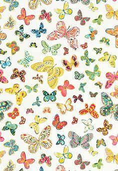 Butterfly Schumacher Fabric