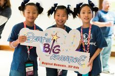 Taylor, Hailey and Hannah, Bert's Big Adventure, BBA2015
