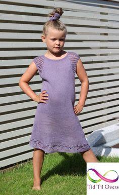 Strikket i tynn line fra Sandnes Garn. Shirt Dress, T Shirt, Dresses, Fashion, Threading, Supreme T Shirt, Vestidos, Moda, Shirtdress