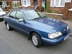 Ford Sierra 2.0 Ghia Manual 'rare Model 1 Of Only 120 Left In The Uk - http://www.classiccarsunder1000.com/archives/49319