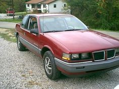 My very first bought car a Pontiac Grand Am 1988, loved it.