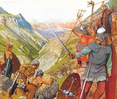 The Celts living along Hannibal's route of march through southern France and into Italy resented the Carthaginian trespasses as well.