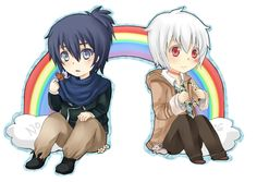 No. 6 Rainbow Chibi by Muika-Miru.deviantart.com on @DeviantArt