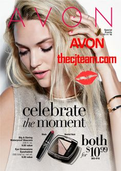 Celebrate the moment with Avon Campaign 10 and 11 2016!  Shop Avon Campaign 11  2016 online April 14, 2016 to May 11, 2016.  #Avon #Avon #CJTeam #Anew #Sale #NEW #Celebrate Shop Avon Online @ www.thecjteam.com