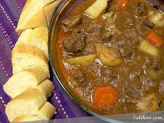 Irish beef stew...looks really good.