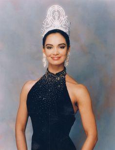 Miss Universo 1991. Lupita Jones, Miss México. MISS UNIVERSE ORGANIZATION/CORTESÍA