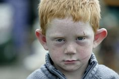 photo by velvia61 Ирландский мальчик