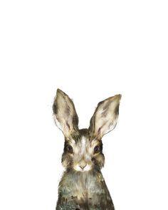 Little Rabbit Canvas Print by Amy Hamilton | Society6