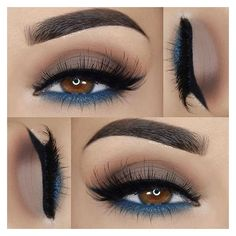 Instagram post by House of Lashes® • Sep 25, 2016 at 6:00am UTC ❤ liked on Polyvore featuring jewelry, earrings, blue earrings, blue jewelry, wing jewelry and wing earrings