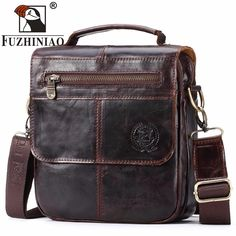 780e2cef9f FUZHINIAO Top Sell Fashion Classic Solid Famous Brand Business Men Briefcase  Genuine Leather Office Bag Casual Man Shoulder Bags