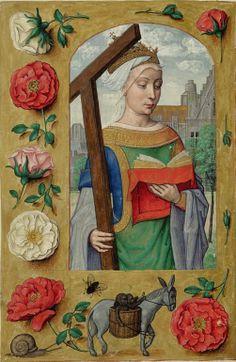 Sant'Elena. Libro d'ore Rothschild, Fiandre, 1500-1520. Collezione privata, f. 233 / Saint Helena. The Rothschild Prayerbook, Flanders, 1500-1520. Private Collection, f. 233