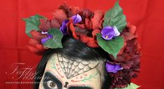 DIY (Do It Yourself) - Day of the Dead Headpiece Tutorial