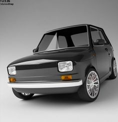 Fiat 126 is a two Cylinder Rear Air cooled engine. Top speed was 95 kph downhill with a wind at your back. 65 to 75 kph was normal operating speed on flat ground. 4 Speed Transmission with Clutch was very mechanical but good. Fiat 500, 147 Fiat, Retro Cars, Vintage Cars, Automobile, Fiat Abarth, Small Cars, Sport Cars, Concept Cars
