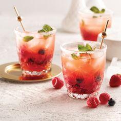 Cocktail gin-berry - Recettes - Cuisine et nutrition - Pratico Pratique