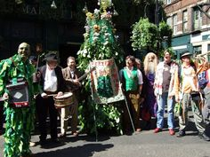 A bad witch's blog: May Day and Jack in the Green. The picture is by Sarah Crofts and shows Fowlers Troop and the Deptford Jack in the Green on May Day 2007.