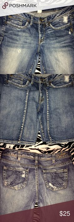 Silver jeans (Lola style) Awesome condition, great fit. Smoke/pet free home. Silver Jeans Jeans Boot Cut