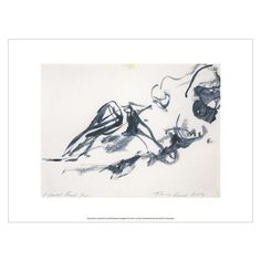 Unframed print of Tracey Emin I Could Feel You. Available from Tate Shop. Tracey Emin Art, English Artists, Figurative Art, Moose Art, Fine Art Prints, Feelings, Artwork, Painting, Shopping