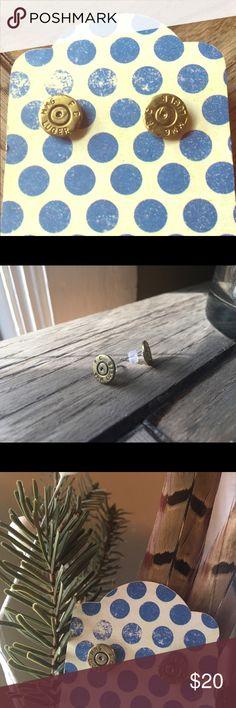 I just added this listing on Poshmark: 9mm Luger Stud Bullet Earrings ✨NEW✨HANDMADE✨. #shopmycloset #poshmark #fashion #shopping #style #forsale #handmade #Jewelry