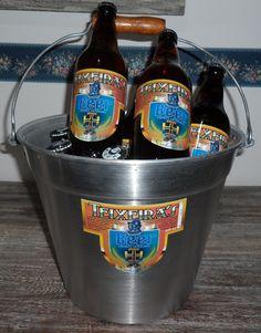 Balde cheio de Teixeira's Beer
