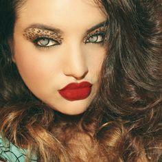 Leopard Inspired Eyes - Jolani Jolie