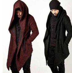 Модная новая мужская плащ Корейская шерсть верхний слой верхняя одежда длинный плащ куртка с капюшоном