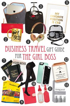 Here is the business travel gift guide to help you find the essentials that the entrepreneurial lady, girl on the go, business traveler, or girl boss in your life needs!