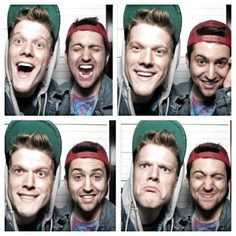 SUPERFRUIT: Mitch and Scott, my favorite pair of best friends. Other than me and my best friend!