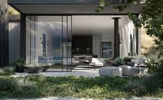 Gallery of New Zealand Luxury Lodge Features Panoramic Views of Lake Wakatipu - 15 Sustainable Architecture, Interior Architecture, King Size Bedroom Suites, Outdoor Bathtub, Lake Wakatipu, Living Roofs, Exterior Cladding, Lounge Areas, Modern Luxury