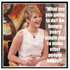 Jennifer Lawrence on positive body image and the media.