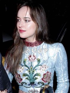 Of course. She is always the Besr! ❤️❤️❤️Dakota Johnson was the best-dressed wedding guest in @Gucci. Bia @Vogue magazine