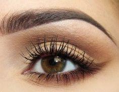 Easy Everyday Eye Makeup for Brown Eyes | Eye Makeup Ideas ...