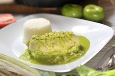Pollo en salsa de chile poblano   Cocina y Comparte   Recetas de Cocina al Natural