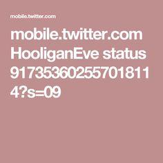 mobile.twitter.com HooliganEve status 917353602557018114?s=09