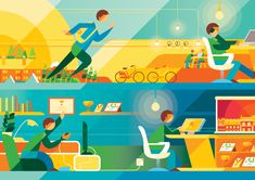 Editorial Illustration Portfolio on Behance