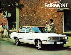 1979 Ford Fairmont 4-Door Sedan with Exterior Decor Package