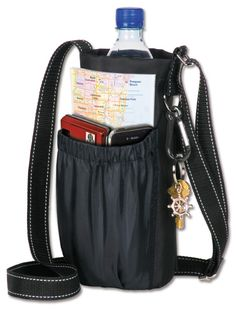 Go Caddy - carry your water bottle, mobile phone, accessories while hiking, biking, touring. Even carry photo equipment with ease. The Go Caddy is a true 'Fabulous' Find! Read more about it - Click on Photo.
