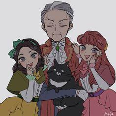 Dark Disney, Disney Fun, Disney Movies, Anime Kawaii, Kawaii Art, Chinese Cartoon, Cartoon Crossovers, Cute Stories, Disney Villains