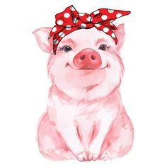 Piggy Baby-Strampler, Piggy-Babybody, Kleinkind-Babymädchen-Strampler Piggy Baby Creeper, Piggy Baby Bodysuit, Toddler Baby Girl Creeper … This image has get Animal Paintings, Animal Drawings, Art Drawings, Cartoon Drawings, Art Sketches, Baby Animals, Cute Animals, Funny Animals, Pig Art