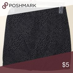 Short skirt No holes/rips/stains. Has slight pilling. Make me an offer OR when you bundle 3 or more items from my closet you only pay shipping ONCE, you get 15% OFF, and a FREE JEWELRY RELATED GIFT!!! Poetry Skirts