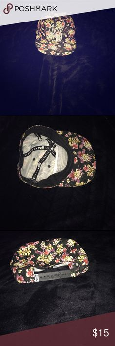 SALE! Ships within 24 hours or less! Brand New! Never Worn! Neff floral print hat. Adjustable strap in the back to fit your size! ✌🏻️ Urban Outfitters Accessories