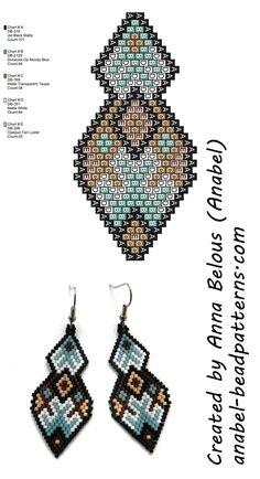 Driving beaded earrings – brick / peyote stitch earrings pattern Source by Seed Bead Jewelry, Bead Jewellery, Seed Bead Earrings, Flower Earrings, Dangle Earrings, Beaded Earrings Patterns, Seed Bead Patterns, Beading Patterns, Bead Earrings