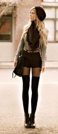 winter style-love it.