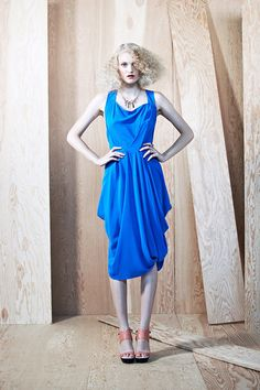 H Fredriksson // Blue Sian Dress