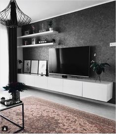 13 best IKEA Besta makeovers - Home Accents living room Living Room Tv Unit, Ikea Living Room, Ikea Bedroom, Bedroom Furniture, Living Rooms, Ikea Interior, Interior Design, Best Ikea, Home And Living