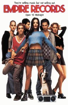 High quality reproduction movie poster for Empire Records starring  J Anthony LaPaglia, Debi Mazar, Liv Tyler and Maxwell Caulfield from 1995. 11 x 17 high quality reproduction on card stock.