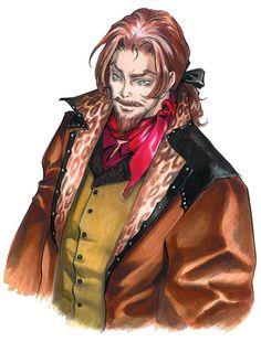 J (Julius Belmont) from Castlevania: Aria of Sorrow