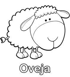 colorear-dibujo-de-oveja-dibujos-infantiles-pintar-imprimir.gif (505×550)