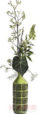 Deko Vase Muse Green 42cm #kare #design #wien #Austria #grün #green #Vase #kareaustria #karedesign